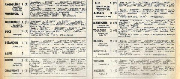1979 D2A J31 BESANCON REIMS 1-0, le 25/04/1980