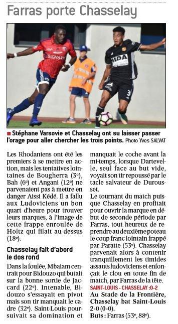 2016 CFA J08 REIMS YZEURE 1-0, le 15/10/2016