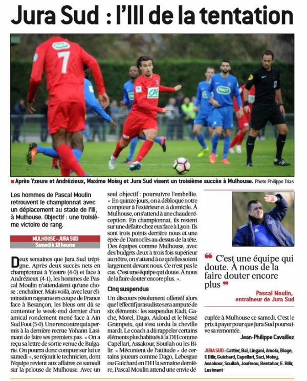 2016 CFA J09 ANDREZIEUX REIMS, l'avant-match, le 29/10/2016