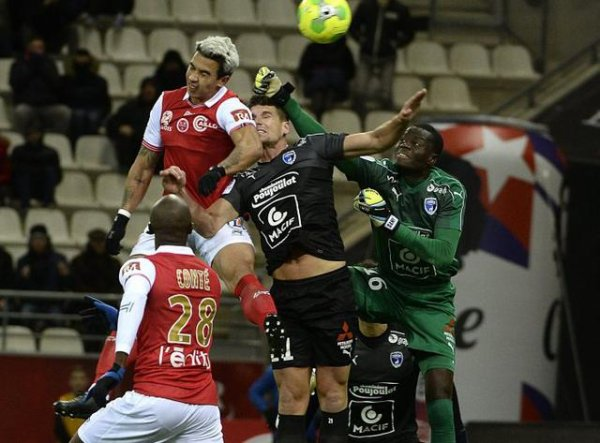 2016 Ligue 2 J17 REIMS NIORT 1-0, le 28/11/2016