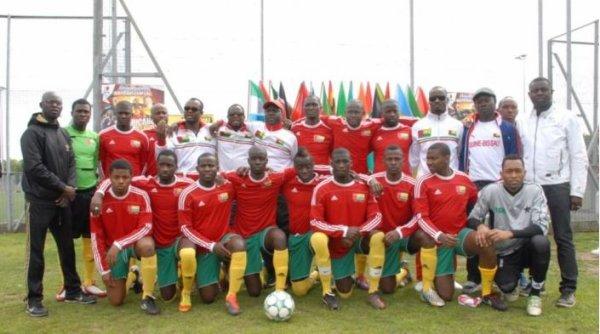 2016 CAN : MENDY et la GUINEE BISSAU, le 03/01/2017