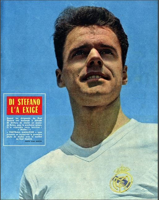 1962 D1 : MULLER direction MADRID, le 30/07/1962