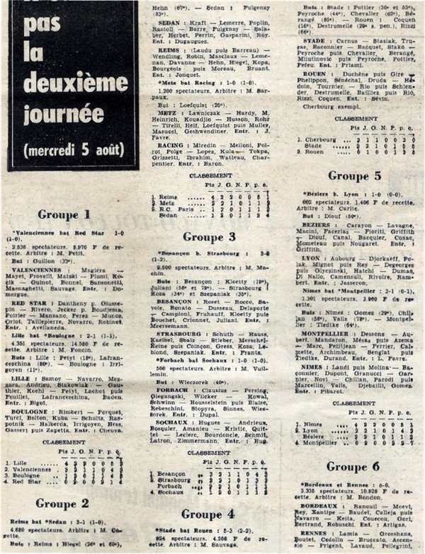 1964 CDL J02 SEDAN REIMS 1-3, le 05/08/1964