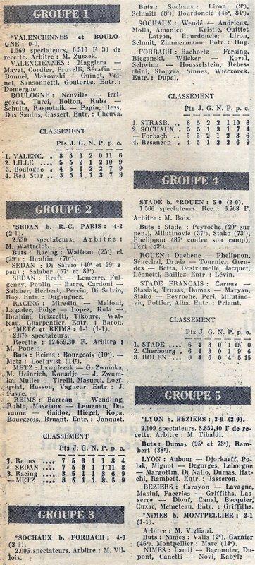 1964 CDL J05 METZ REIMS 1-1, le 19/08/1964