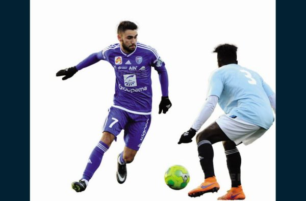 2016 Ligue 2 J20 BOURG en BRESSE REIMS, l'avant match, le 12/01/2017