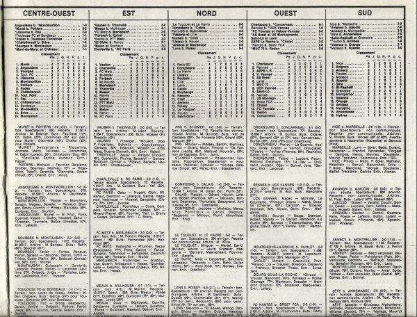 1985 D3 J02 REIMS PTT METZ 3-2, le 01/09/1985