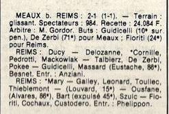 1985 D3 J14 MEAUX REIMS 2-1, le 07/12/1985