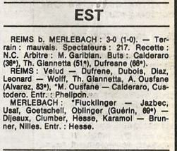 1985 D3 J21 REIMS MERLEBACH 3-0, le 01/03/1986