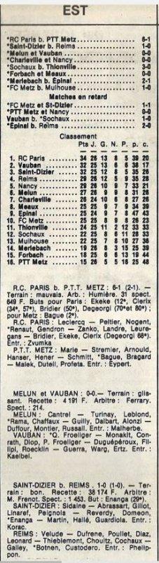 1985 D3 J26 SAINT DIZIER REIMS 1-0, le 12/04/1986