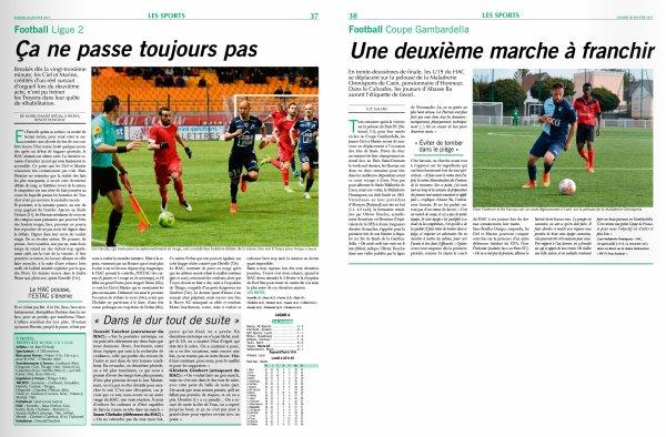2016 Ligue 2 J22 TROYES LE HAVRE 2-1, le 27/01/2017