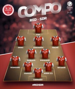 2016 Ligue 2 J22 RED STAR REIMS 0-1, le live, le 30/01/2017