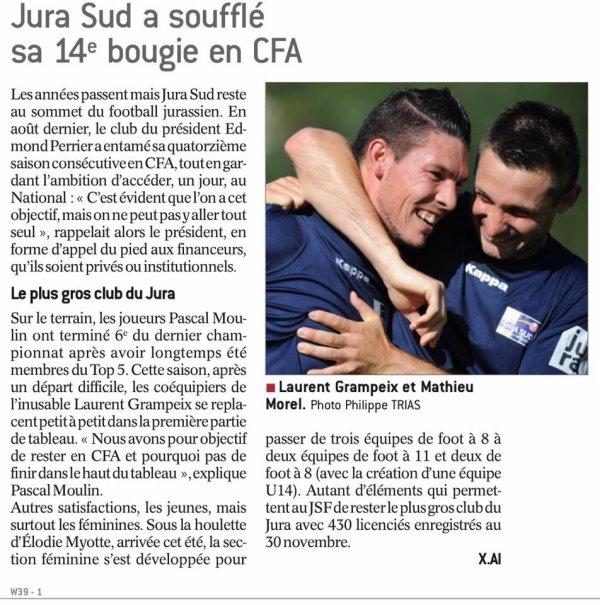 2016 CFA J18 REIMS JURA SUD, l'avant match, le 04/02/2017