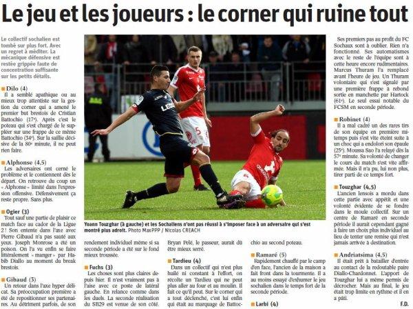 2016 Ligue 2 J23 BREST SOCHAUX 2-0, le 04/02/2017