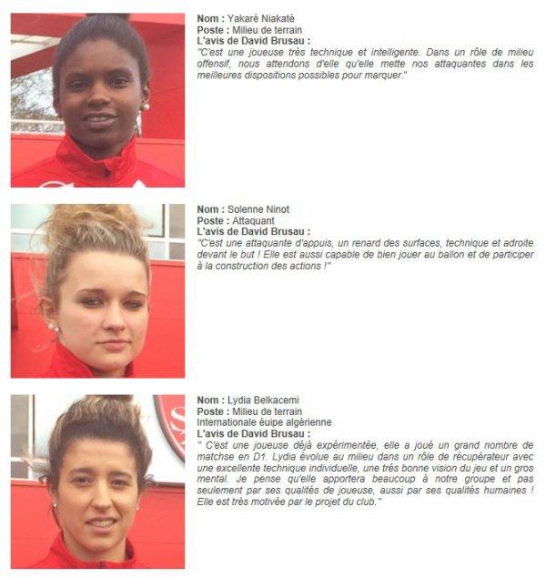 2016 D2 Féminines J13 REIMS BREST 2-1 , le 05/02/2017