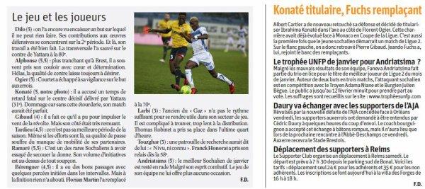 2016 Ligue 2 J24 SOCHAUX AUXERRE 0-1, le 07/02/2017