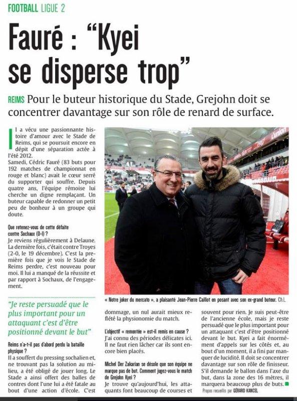 2016 Ligue 2 J25 REIMS SOCHAUX 0-1, les + du blog, le 14/02/2017