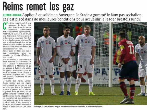2016 Ligue 2 J26 CLERMONT REIMS 0-1, les + du Blog, le 21/02/2017