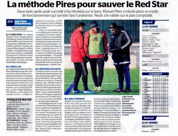 2016 Ligue 2 J26 RED STAR STRASBOURG 1-1, le 17/02/2017
