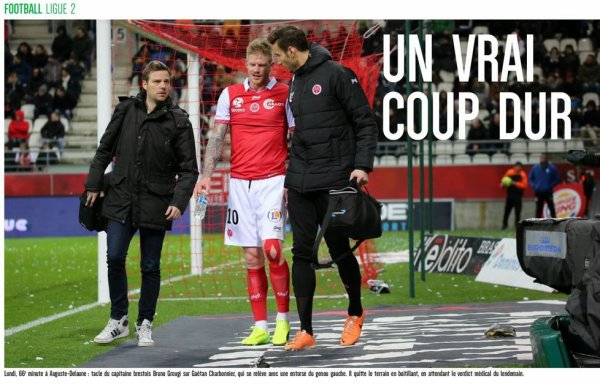 2016 Ligue 2 J27 REIMS BREST 1-1, les + du Blog, le  01/03/2017