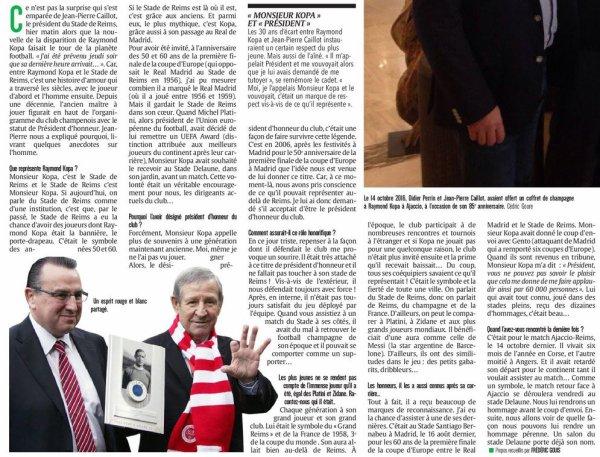 2017  DECES de KOPA, Dossier L'UNION 2/3,   le 03/03/2017