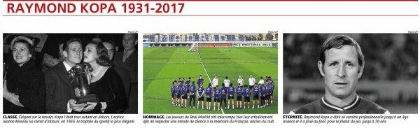 2017  DECES de KOPA, Dossier COURRIER de L' OUEST, 1/4  le 03/03/2017