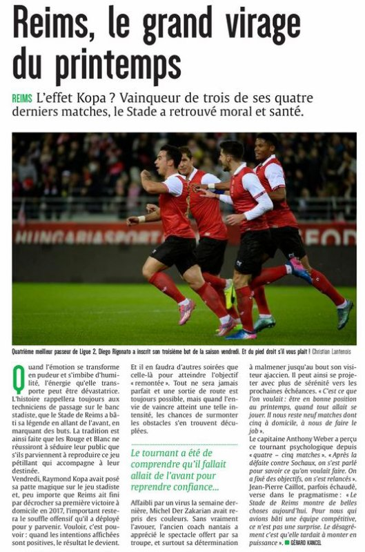 2016 Ligue 2 J29 REIMS AJACCIO 3-0 : les + du Blog,  le 13/03/2017