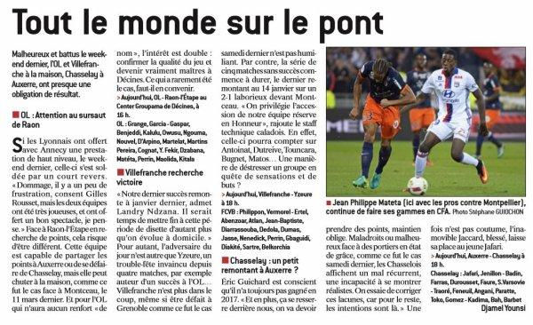 2016 CFA J23 REIMS ANDREZIEUX, l'avant match, le 18/03/2017