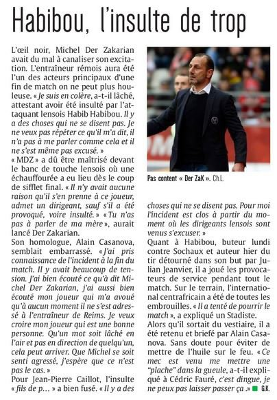 2016 Ligue 2 J30 REIMS LENS 0-2, le 18/03/2017