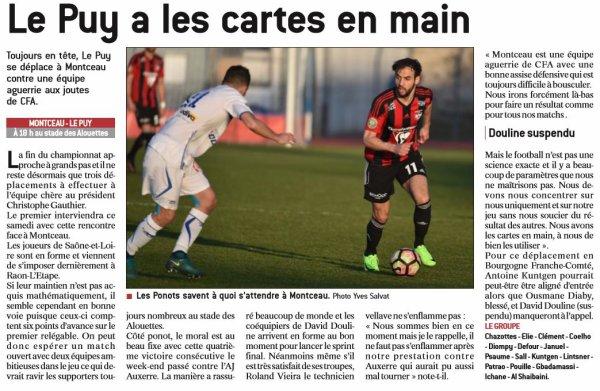 2016 CFA J23 MONTCEAU LE PUY 0-0, le 19/03/2017