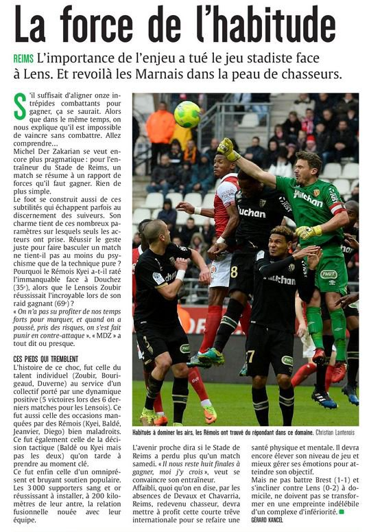 2016 Ligue 2 J30 REIMS LENS 0-2, les + du Blog 20/03/2017