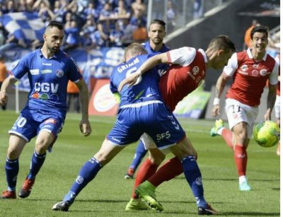 2016 Ligue 2 J32 REIMS STRASBOURG 1-1, le 08/04/2017