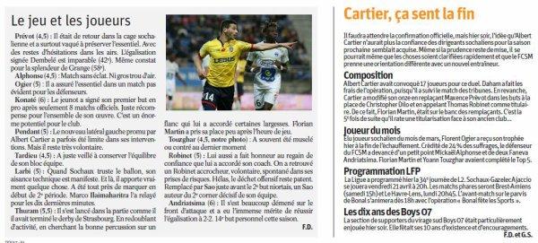 2016 Ligue 2 J32 SOCHAUX NIORT 2-2, le 07/04/2017