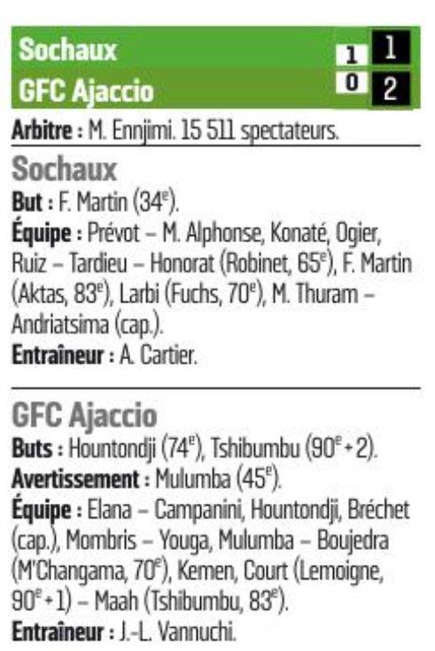 2016 Ligue 2 J34 SOCHAUX GAZELEC 1-2, le 21/04/2017
