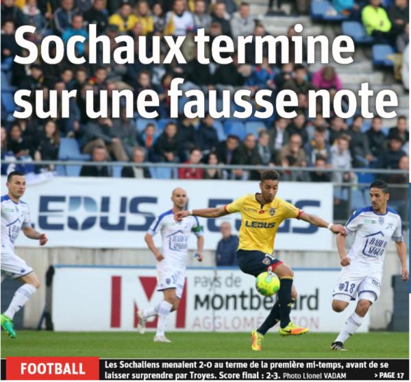 2016 Ligue 2 J38 SOCHAUX TROYES 2-3 , le 19/05/2017