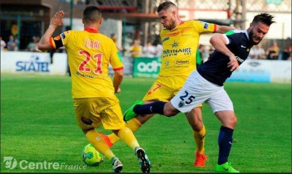 2016 BARRAGE RETOUR L2/NAT : ORLEANS  PARIS FC 1-0, le 28/05/2017