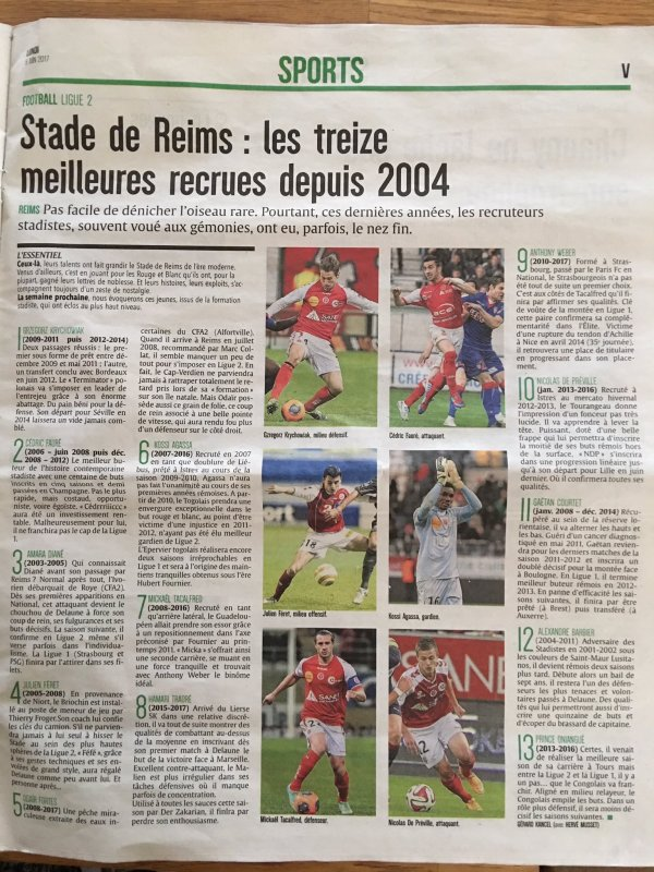 2017 REIMS : LES TOPS et FLOPS de L'UNION, le 06/06/2017