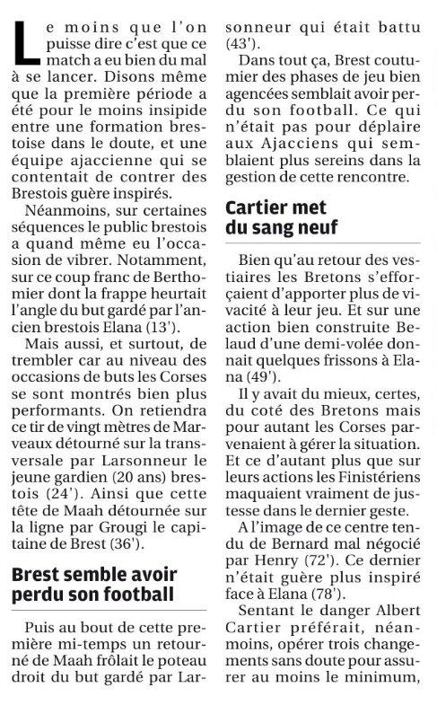 2017 Ligue 2 J03 BREST GAZELEC 0-0, le 11/08/2017