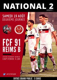 2017 NATIONAL 2 J02 FLEURY REIMS, l'avant match, le 18/08/2017