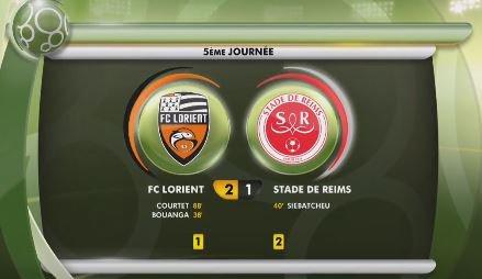2017 Ligue 2 J05 LORIENT REIMS 2-1, le live, le 26/082017