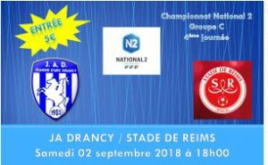 2017 NATIONAL 2 J04 DRANCY REIMS 1-1, le 02/09/2017