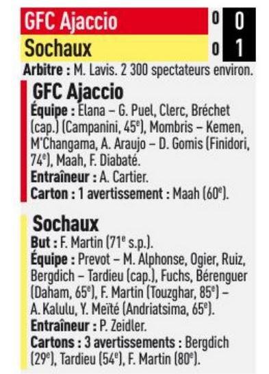 2017 Ligue 2 J06 GAZELEC SOCHAUX 0-1, le 08//09/2017