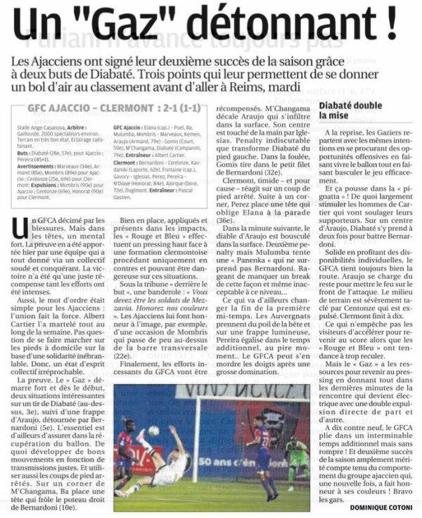 2017 Ligue 2 J07 GAZELEC CLERMONT 2-1, le 15/09/2017