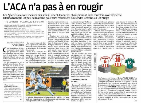 2017 Ligue 2 J07 LORIENT AJACCIO 2-0, le 15/09/2017