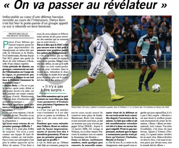 2017 Ligue 2 J07 BREST LE HAVRE 1-0, le 15/09/2017