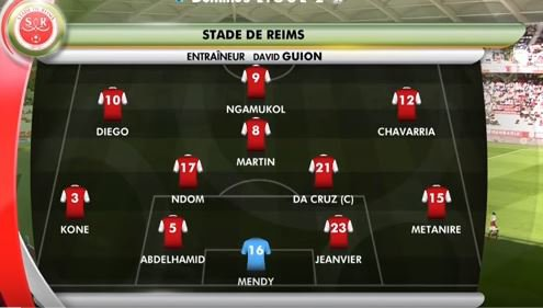 2017 Ligue 2 J10 REIMS CLERMONT 1-0, le live, le 30/09/2017