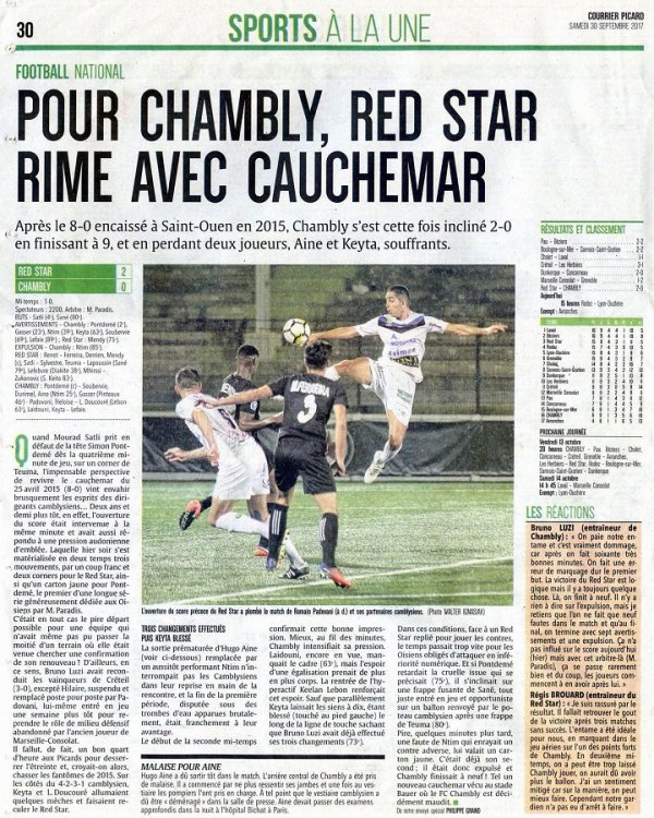 2017 NATIONAL 1 J08 RED STAR CHAMBLY 2-0, le 29/09/2017