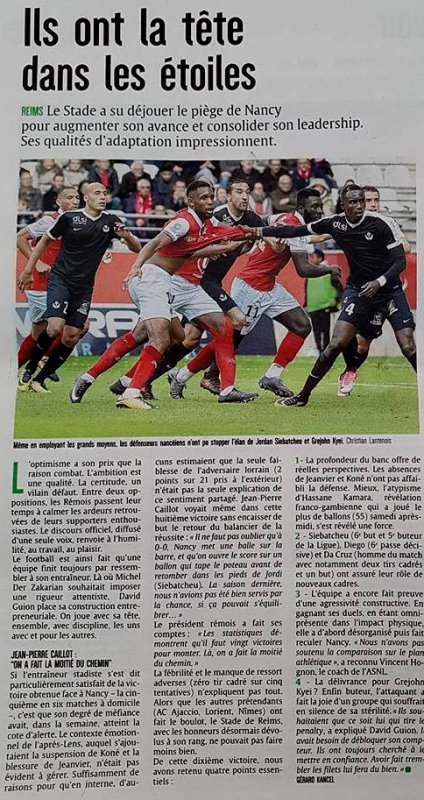 2017 Ligue 2 J13 REIMS NANCY 3-0, les + du Blog,  le 30/10/2017