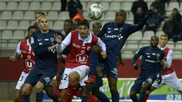 2017 Ligue 2 J15 REIMS PARIS FC 1-1, le 17/11/2017