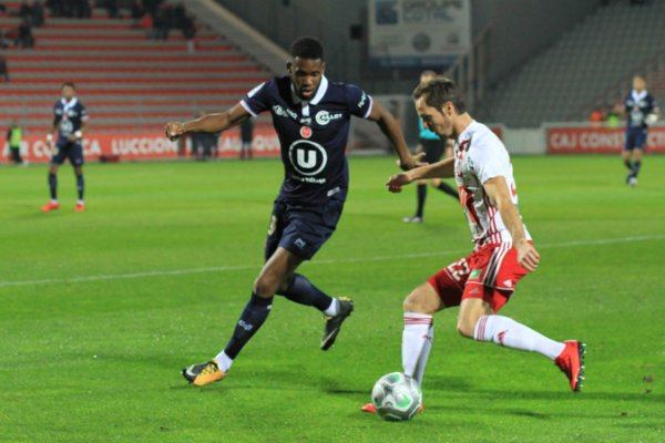 2017 Ligue 2 J16 AJACCIO REIMS 0-1, le 24/11/2017