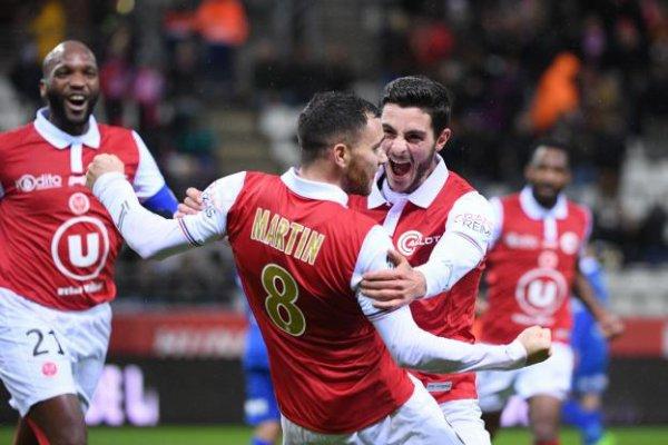 2017 Ligue 2 J17 REIMS AUXERRE 2-0, le 27/11/2017